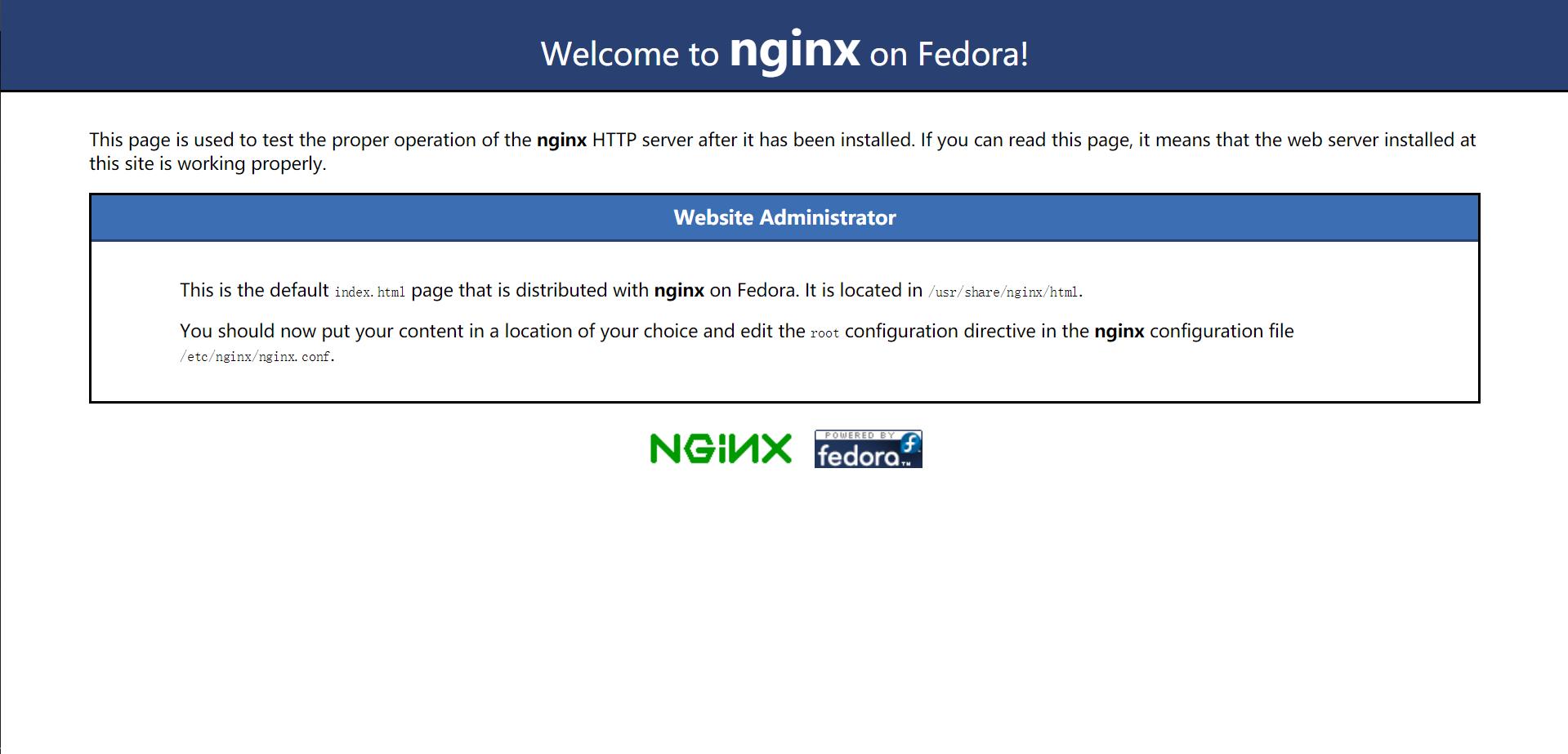 「Nginx」CentOS7.6操作系统下通过源码安装Nginx教程