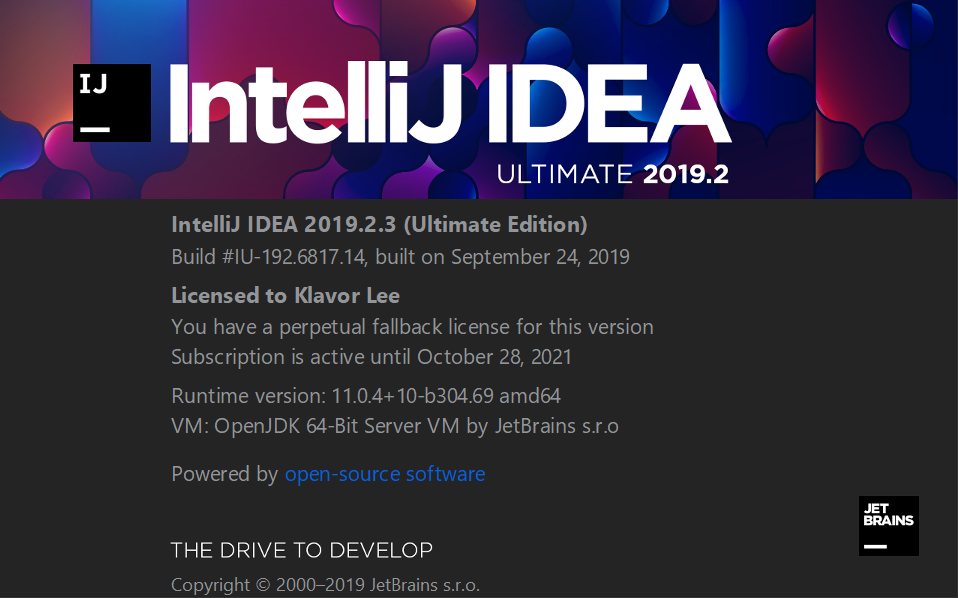 Intellij IDEA授权